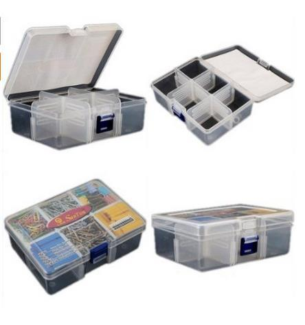 Exceptional New Mini Travel Portable Plastic Storage Organizer Box 6 Compartment For  Beads Watch Jewellery Tool Case Box  In Storage Boxes U0026 Bins From Home U0026  Garden On ...