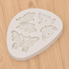 3D Butterfly Model Polymer Clay Tool Accessories DIY Crafts Wall Panel Decoratin