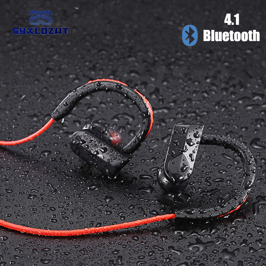 Sport Bluetooth Earphone Wireless Headphones With Microphone Waterproof Stereo Earbuds Headset fone de ouvido For iPhone xiaomi new arrival sports fone de ouvido earphone awei a890bl wireless bluetooth earphones audifonos with microphone for xiaomi iphone