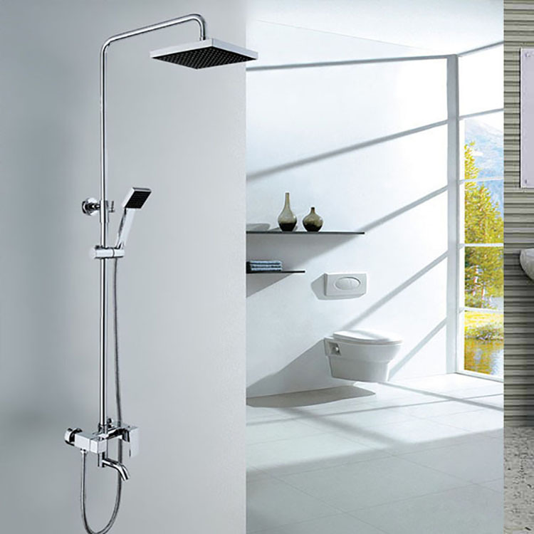 Real Snyder whole copper shower faucet shower bath under water with lift rotatable square Specials
