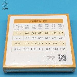 Image 4 - Nitel Filtre Kağıdı Çapı 18 cm Yuvarlak Yağ Algılama Filtre Kağıdı Laboratuvar Filtrasyon Kağıdı Ücretsiz Kargo 100 Adet/pk