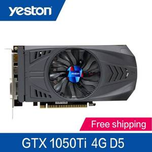 Yeston TI-4GB GDDR5 Nvidia pci x16 3.0 Desktop computer PC video gaming graphics