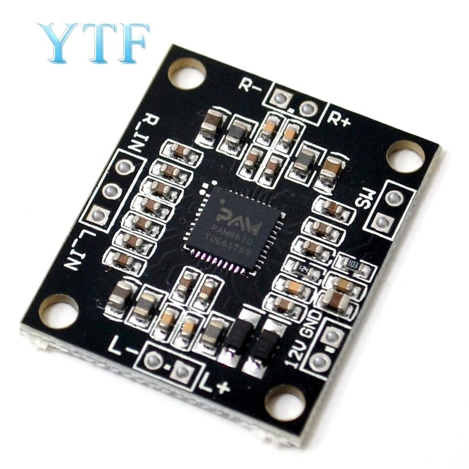 PAM8610 Digital Power Amplifier Board 2 X15w Dual Channel Stereo Mini Class D Power Amplifier