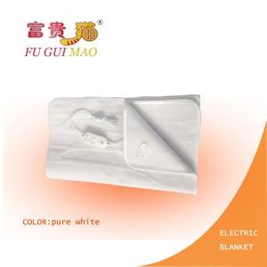 Image 4 - FUGUIMAO غطاء كهربائي أبيض نقي مانتا Electrica 150x70 سنتيمتر بطانية التدفئة الكهربائية للسرير 220 فولت بطانية صوف كهربية الجسم أدفأ