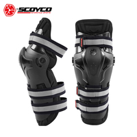 SCOYCO Motorcycle Knee Pads Motocross Off Road Racing Knee Protector Guard Outdoor Sports Protective Gear Accessories