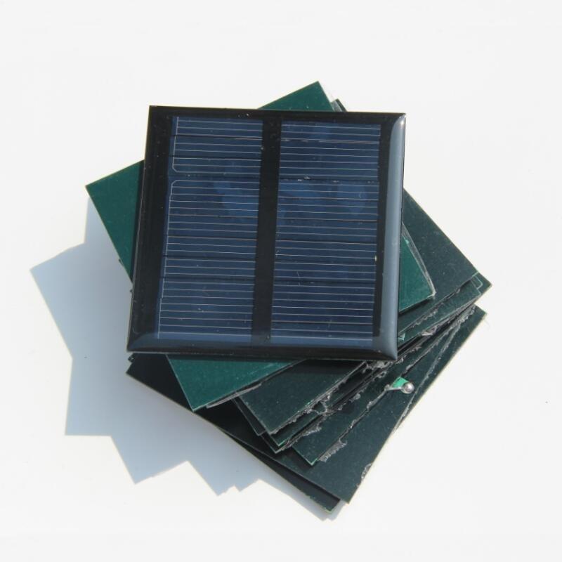 0.5 watt 5 V pequeno resina solar