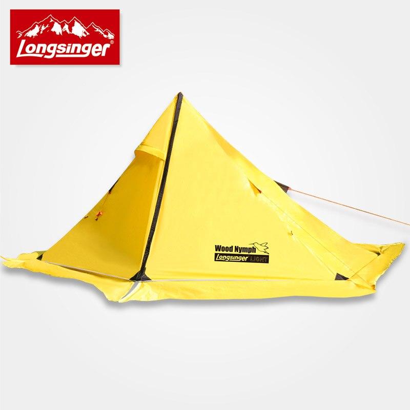 Swordbill extérieur ultra-léger de silicium unique tente double couche tente de camping