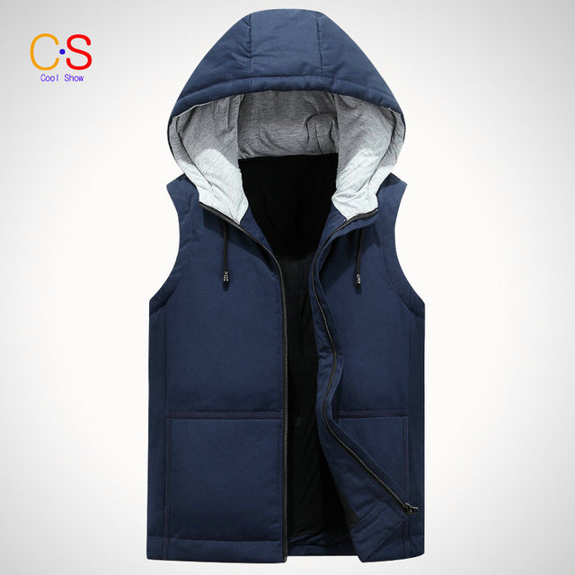 2016 Fashion Men Waistcoat Quilted Brief Youth Sleeveless Jackets Spring And Autumn Men's Vest Men outerwears