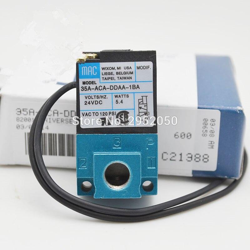 все цены на  Mac type 35A-ACA-DDAA-1BA DC24V high frequency valves for Drip molding machine Dispensing machine marking machine  онлайн