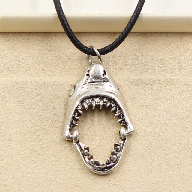 Dolphin Necklace VERY SMALL Dolphin Charm Necklace Dolphin Jewelry Black Leather Necklace Cord Necklace Men/'s Jewelry Boyfriend Necklace