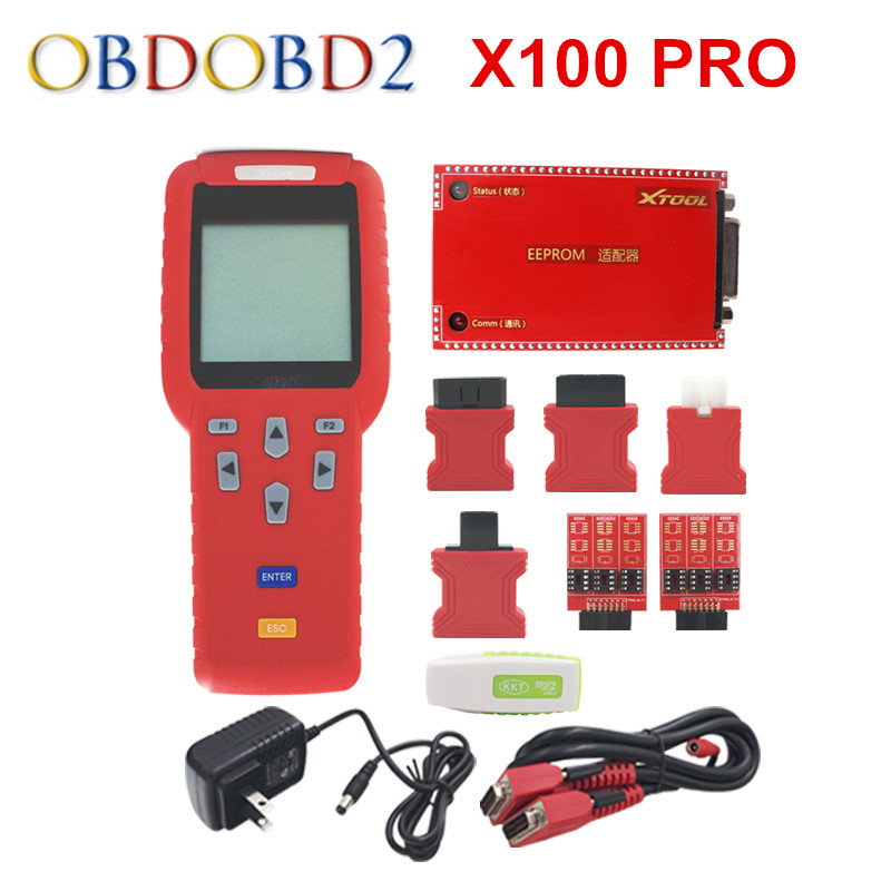 Original XTool X100 Pro Auto Key Programmer X 100 Pro With EEPROM X-100 Pro ECU&Immobilizer Programmer Update Online DHL Free new original a62p with free dhl