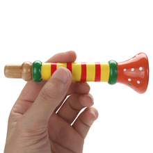 Wooden Musical Trumpet for Toddlers & Kids – Educational Toy