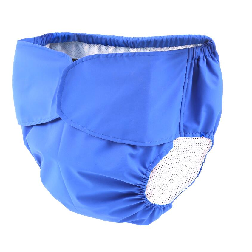Купить с кэшбэком Pororo Adult elderly can wash cloth diape Old Urine Does Not Wet diaper Pants Incontinence Waterproof Cotton Diapers Pants D20