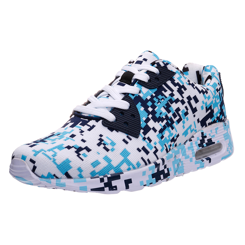 Joomra New Men Sneakers Male Running Shoes Trainers Lace-up Outdoor Athletic Sport Shoes Air bottom Comfortable Shoes man