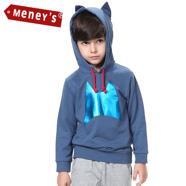 2016 New Hot kids Hoodies kids boys Sweatshirts spring autumn Cartoon sweater Long Sleeve Outwear baby clothes T-shirts for boys