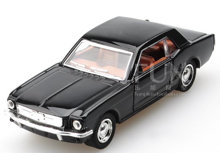 High simulation Ford Mustang sports car, 1: 32 alloy pull back car model, 2 open door muscle sports car ,free shipping image
