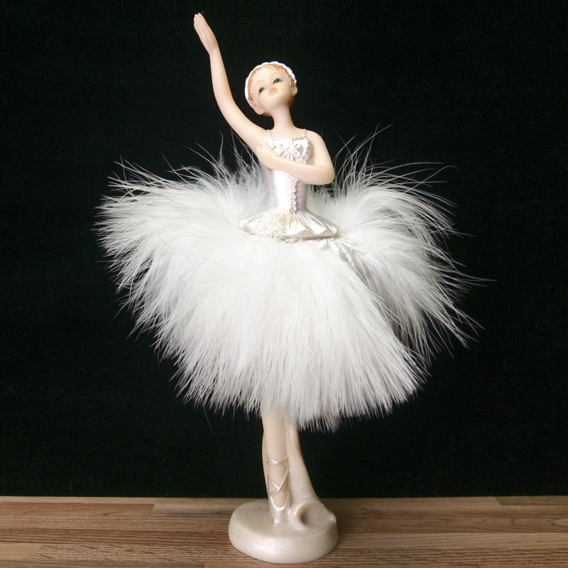 Dancing Girl Fairy Angel Ornaments Ballet Women Home Decor