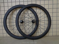 New 700C 50mm tubular rim lightest Road bicycle matt UD full carbon fibre bike wheelsets with hub aero spoke skewer Free ship