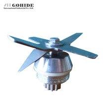 Gohide 1 stücke Sand Eismaschine SW-767 Messer Schärfer Soja Maschinen Sand Maschine Mixer Teile Klinge Küche Zubehör