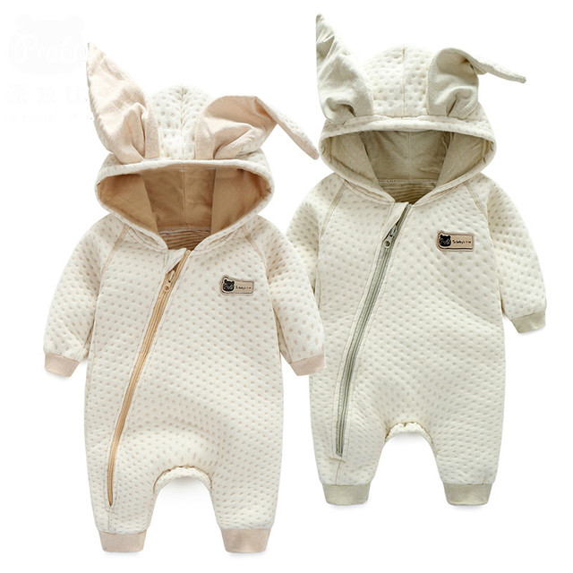 0-3 years old high quality unisex baby clothes baby romper suit thickened baby conjoined sleeping bag 4 sizes optional