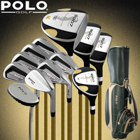 Бренд поло коллекций и профессионального геймера Гольф клубы полный набор с сумка Мужская Гольф клубы клюшки для гольфа комплект Гольф Гра
