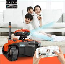 Newl attop yd-211 4CH RC Wifi Tank Spy Tank controlled by smart phone with adjustable Wifi camera long play time VS 777-287