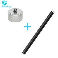 """Stabilizator gimbal ręczne przedłużenie z włókna węglowego z adapterem gwintowanym 1/4"""""""