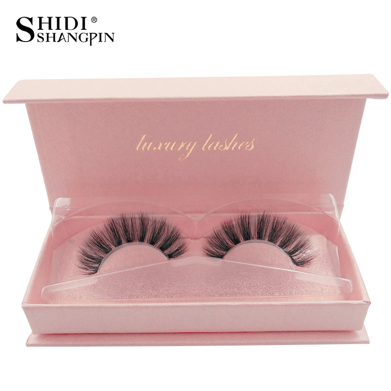 Thick 1 pair 3d mink lashes false eyelashes natural long eye lashes handmade false eyelash extension maquiagem makeups faux cils