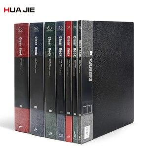 ПВХ A4 папка для хранения файлов дисплей Книга Документ Органайзер для бумаг файл Binder прозрачный карман для хранения продуктов офисное упра...