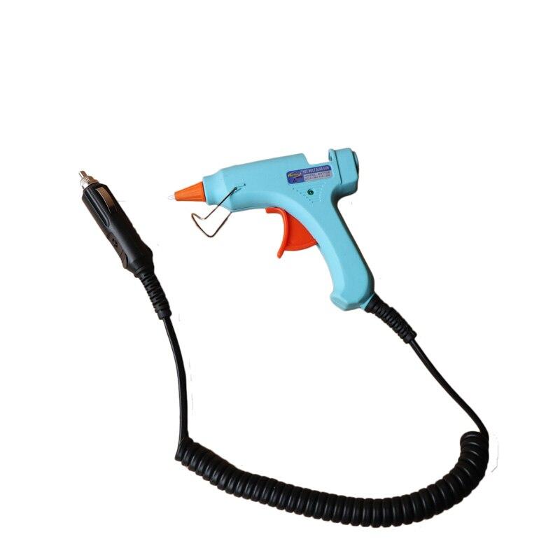 12 V 20W autosigaretisüütaja kuumvaltsüsteemega liimipüstol 7mm - Elektrilised tööriistad - Foto 3