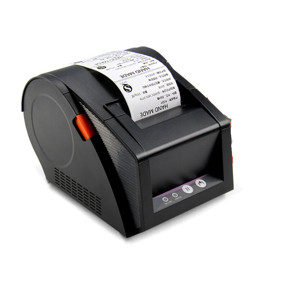 Üks masin amfiibne Jia Bo GP-3120TU termoprinteri vöötkoodi etikett masin hind supermarket Label Printer 80mm