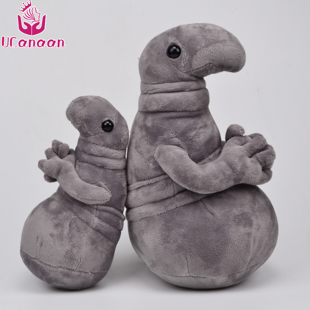 UCanaan Plush Stuffed Toy Blob Zhdun Toys Snorp Plush Zhdun Meme Soft Plush Doll Homunculus Loxodontus Best Gifts for Friends ucanaan plush stuffed toys for children kawaii soft 6 colors rabbit bear best birthday gifts for friends doll reborn brinquedos