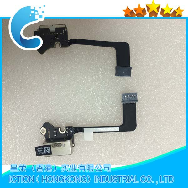 Original New DC Jack Power Board for Apple Macbook Pro 13 Retina A1502 Power DC-IN Jack 820-3584-A 2013 2014 2015 Year