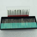 diamond burs bur bit set DREMEL 2.35mm shank Rotary Tool Drill Bit for grinding jade stone marble glass 50pcs