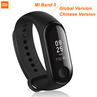 Original Xiaomi Mi band 3 Mi Band 2 Smart Watch Fitness Bracelet Wristband fitness trackerOLED Touchpad Sleep Monitor Heart Rate