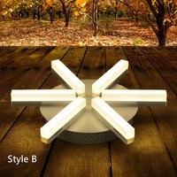 6 шт. современные светодиодные подсолнечное потолочный светильники бра Мини офис освещение столовая чтение потолочный светильник свет Abajur