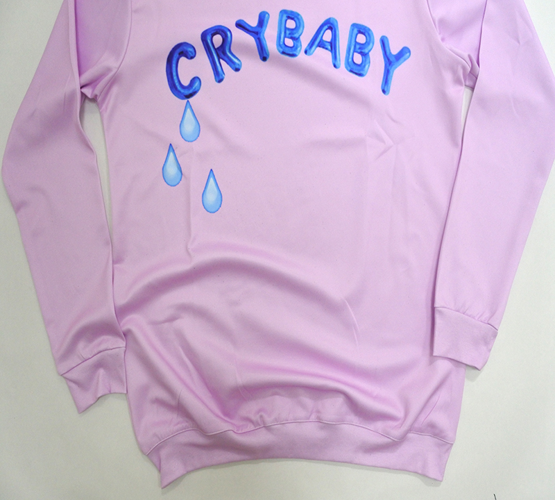 NEW Fashion hot 3D print sweatshirts men or womens print CRY baby sweatshirt enchantress pullover hoodies free shipping