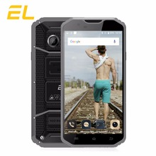 E & L W8 Robuste Smartphone 5.5 Pouce HD IPS MTK6753 Octa Core téléphones Dual Sim 3000 mAh Étanche Téléphone 4G Tactile Mobile Téléphone Chine