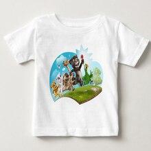 2019 Kids T Shirt Fashion Summer Cotton Short Sleeve T-shirt Cartoon Printed Tops Pure Cotton Shirt YUDIE 2018 pure cotton t shirt harry dobby movie potter figure printed long sleeve fashion casual tops