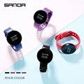 SANDA водонепроницаемые Смарт-часы с Bluetooth  шагомер  фитнес-трекер  напоминание о звонках  умные часы для IOS Android  мужские часы  женские часы
