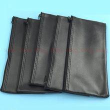 Профессиональный кожаный чехол для микрофона с застежкой молнией, 10 шт., аксессуары или кабель для микрофона Shure 23*11 см