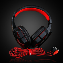 Headphone with Microphone 3.5mm Computer Headset PS4  Gaming Headset LED Light  Stereo Earphone Game Headsets For PC Dota 2