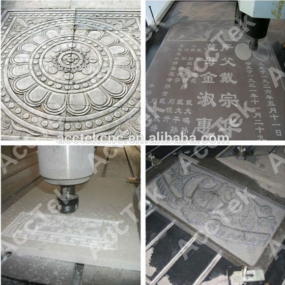 New Design For Stone Carving Lathe Machine /wholesale 7090 Tile Stone Aluminium Milling Cnc Router