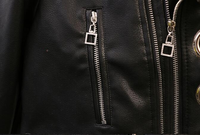 Veste Taille Augmentation Cuir Version Sœur En Nouvelles Vêtements Grande La Court Printemps Coréenne Xl Femmes Personnalité Graisse 4xl De pwFgn8Sxq