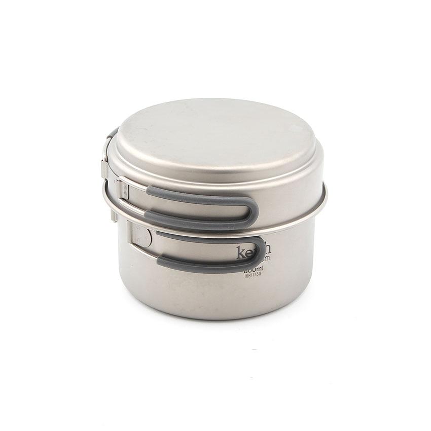 Keith Ti6012 New Titanium Pot Camping Cookware Titanium Cookware 168g KP6012 купальник keith fly kj 1721