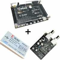 Xilinx spartan 6 FPGA kit FPGA spartan 6 XC6SLX9 bordo di sviluppo + Piattaforma di Download USB Cavo + 8 bit AD /DA Modulo XL015