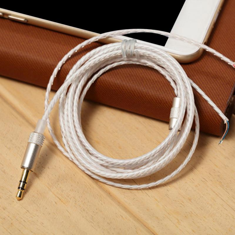 HIFI Earphone Cable for DIY Replacement 1.2m Audio Cable ...