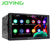 JOYING 2 din auto radio player Octa Core 4GB + 64GB Android 8.1 Unterstützung 4G DSP GPS universal stereo kopf einheit SWC multimedia player