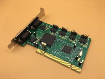 Multi Serial Card MCS9865 Chipset PCI Serial COM Port RS232 6-port 9pin Device PCI Expansion Industrial Control Card