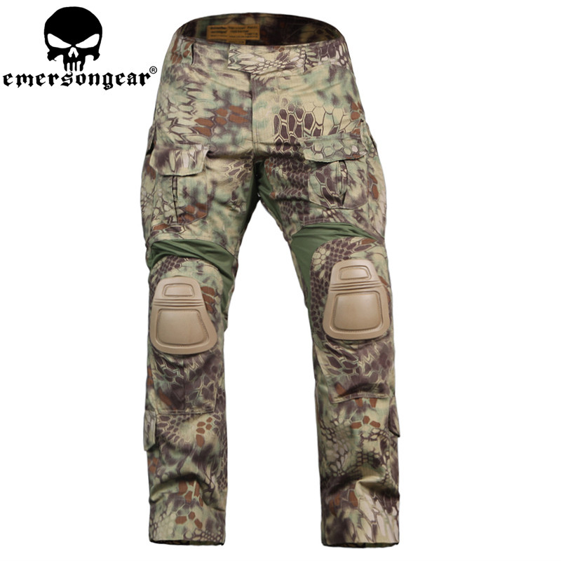 Emerson  G3 Version men Camouflage Hunting Pants Tactical Airsoft Combat Trousers MR